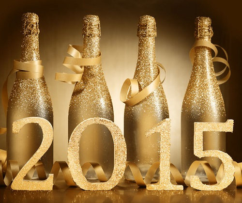Decorate Your Champagne Bottles
