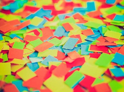 Tissue Paper Confetti Trays