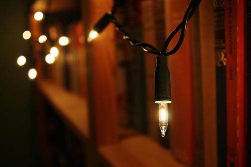 Lighting Up a Bookshelf