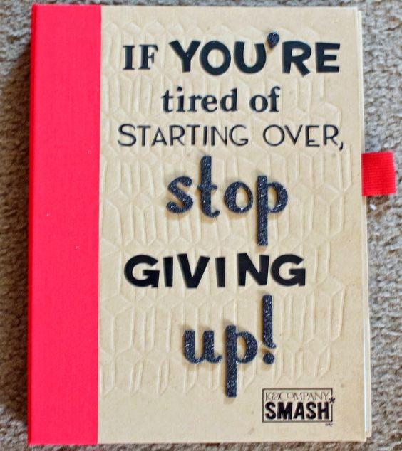 Motivational Smash Book