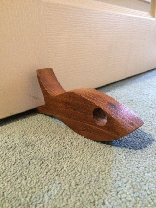 Fish doorstop can complete your collection