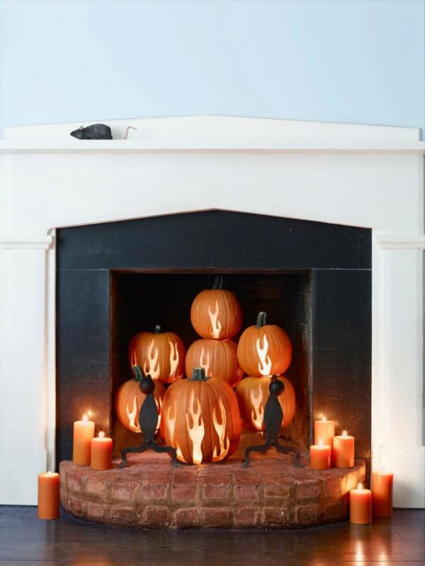 fake-fireplace