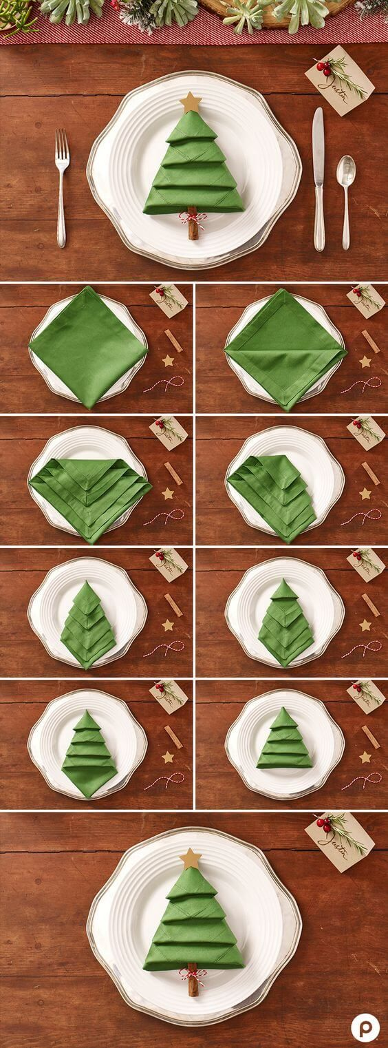 nifty Christmas napkins