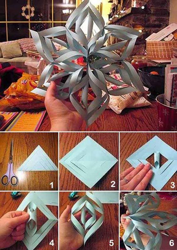 Christmas stunning snowflakes