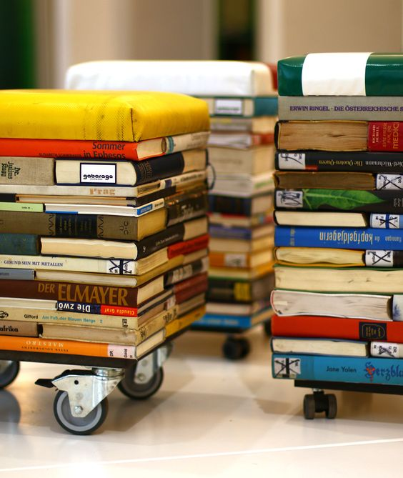 Creative book stool