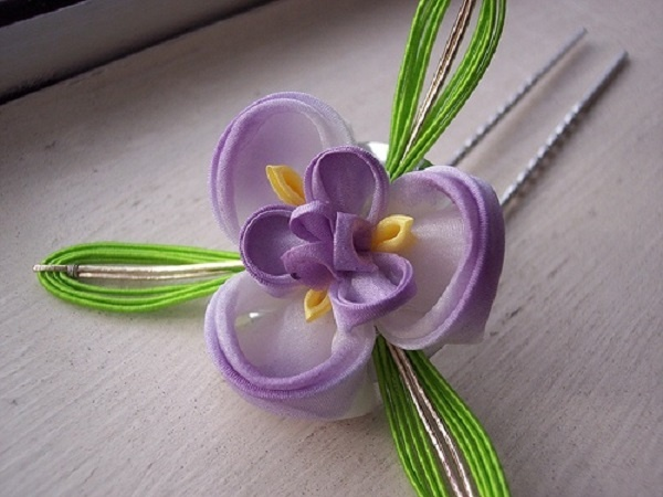 Beautiful Kanzashi Ideas