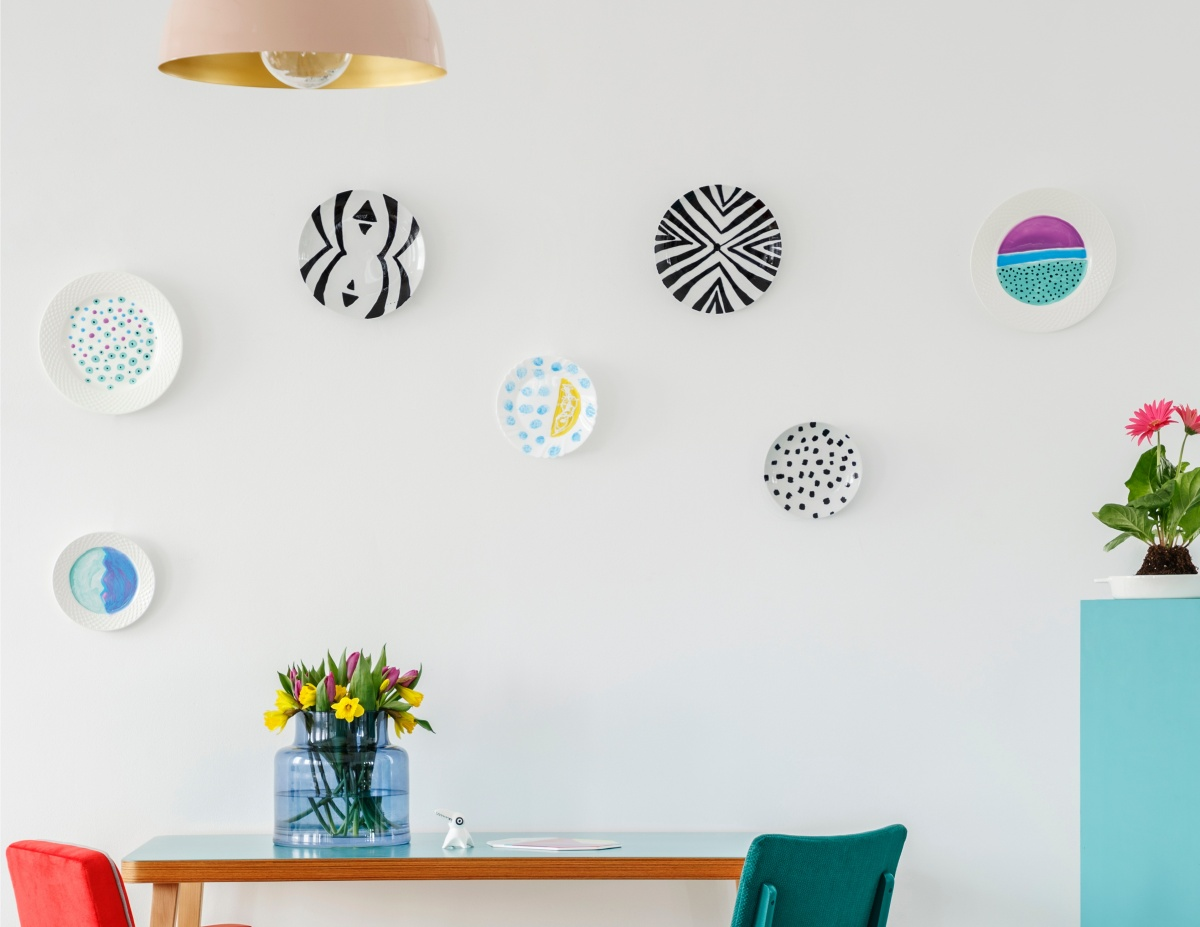 10 Breathtaking DIY Decorative Plates