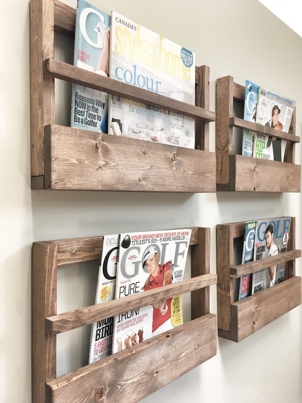 A quick-and-dirty magazine rack
