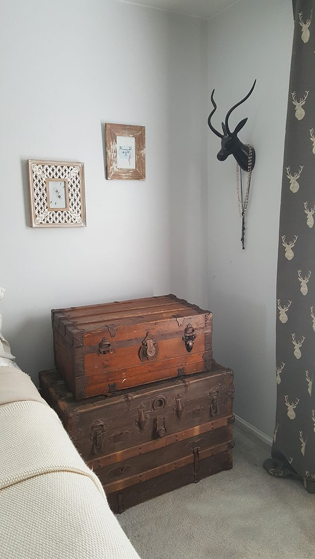 An old wooden chest