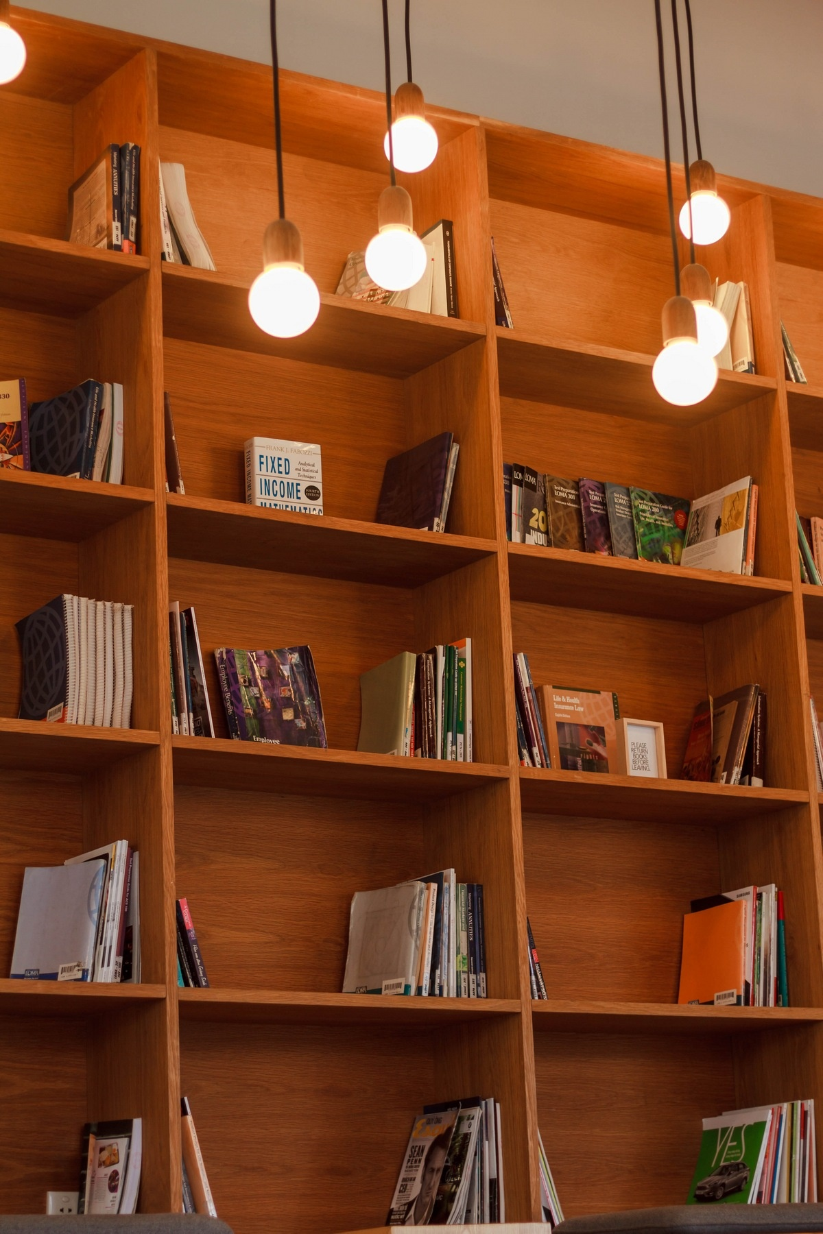 Ways to Decorate Your Bookcase - Install Lighting