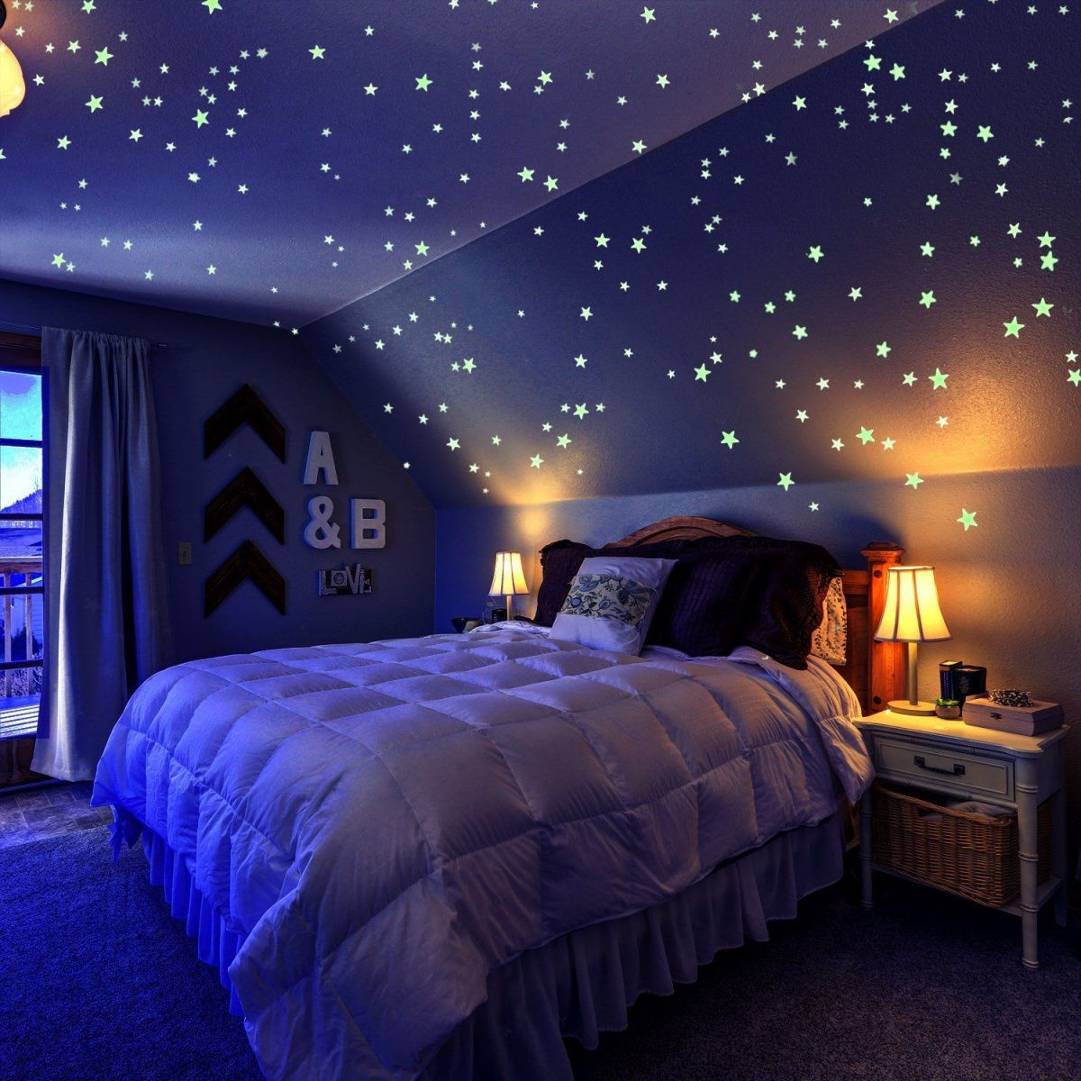 Glow-in-the-dark stars 10 Fun Nightlights for Your Child's Room