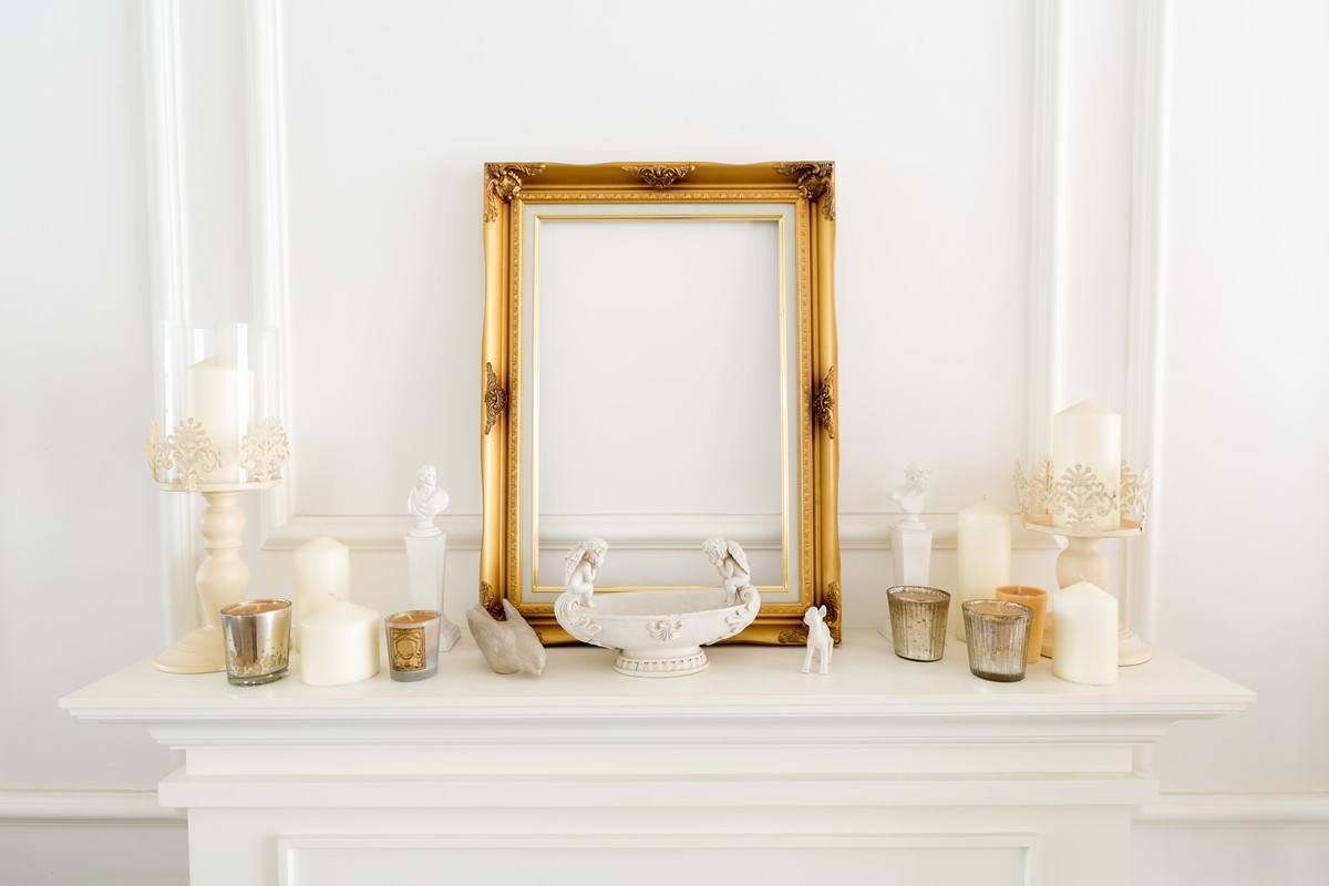 Decorate Your Fireplace Mantel - Fire It Up
