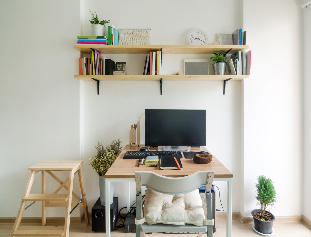 Home Office Decor Ideas - Hang It Up