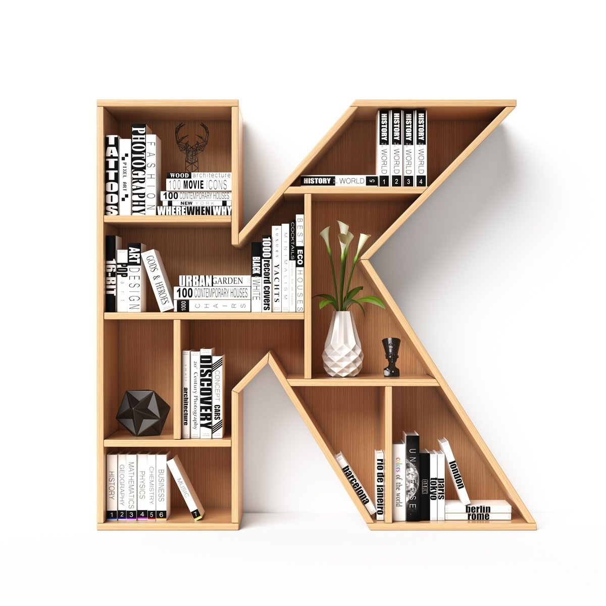 Home Office Decor Ideas - Start a Library