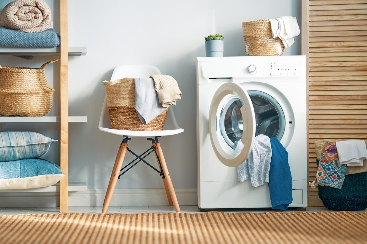 Laundry Room Decorating Ideas - Take a Load Off