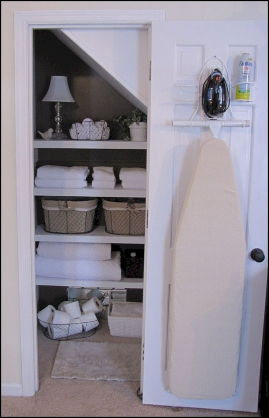 Hide Your Ironing Board 10 DIY Storage Ideas for Your Small Apartment