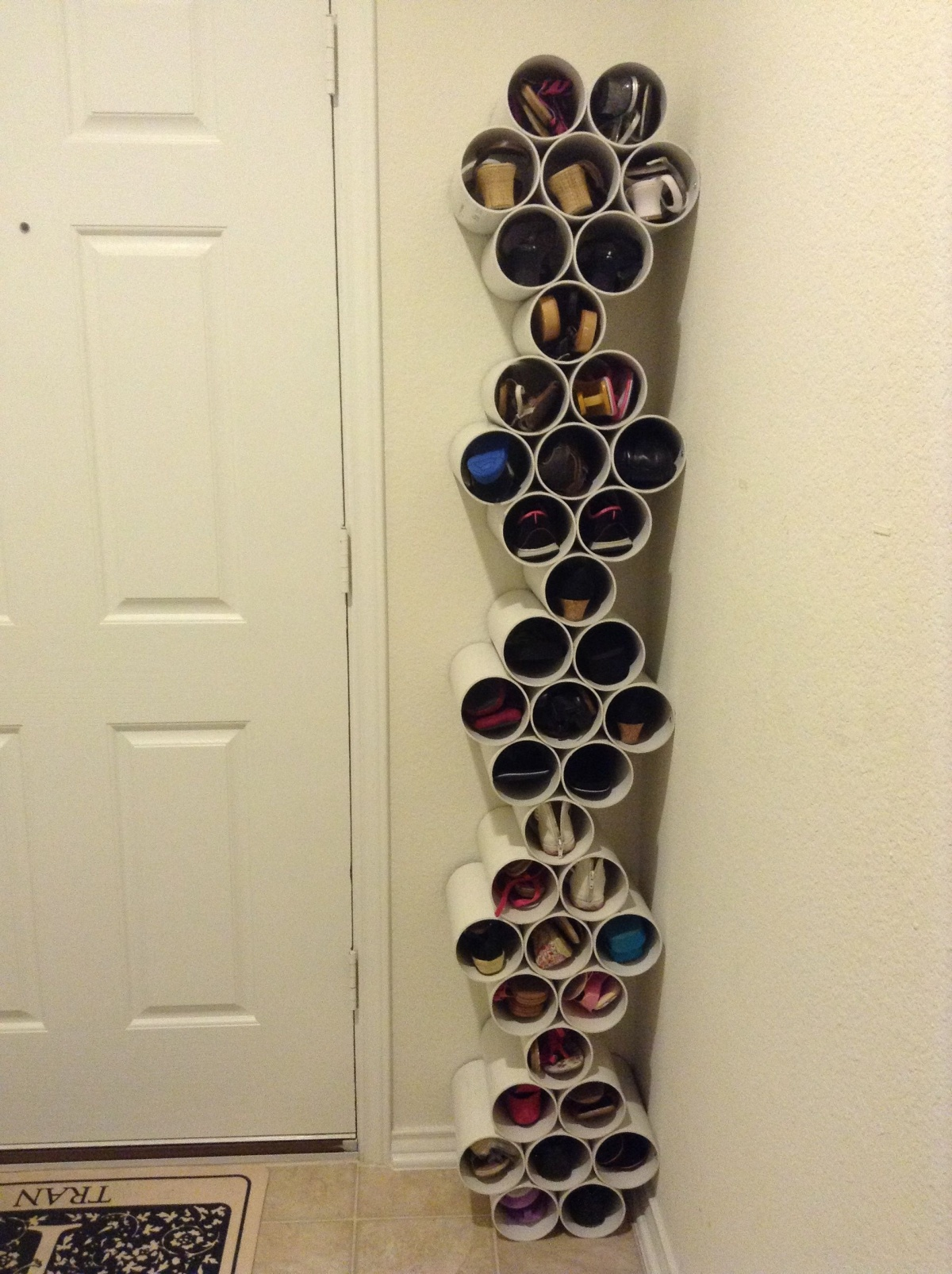 Make a Shoe Rack 10 DIY Storage Ideas for Your Small Apartment