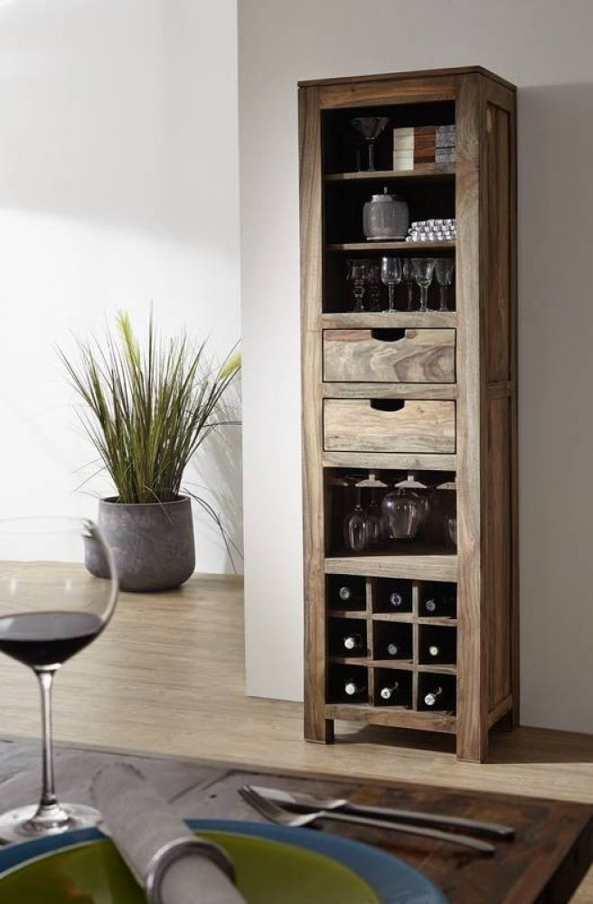 Organize Your Office with a Wine Rack 10 DIY Storage Ideas for Your Small Apartment 1