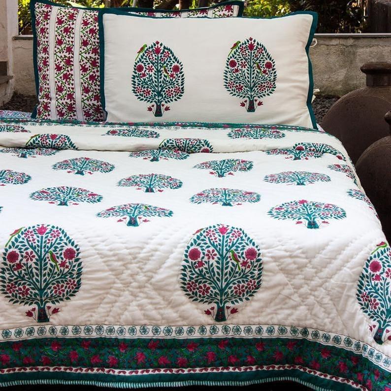 Get a printed bedspread
