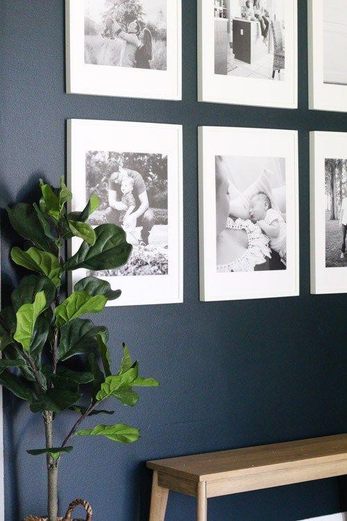 Hang poster-sized photo prints