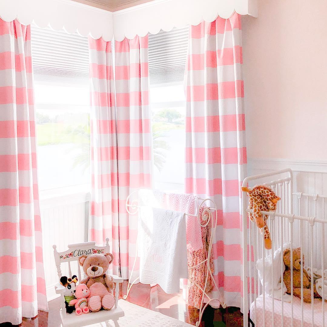 Pretty Window Cornices