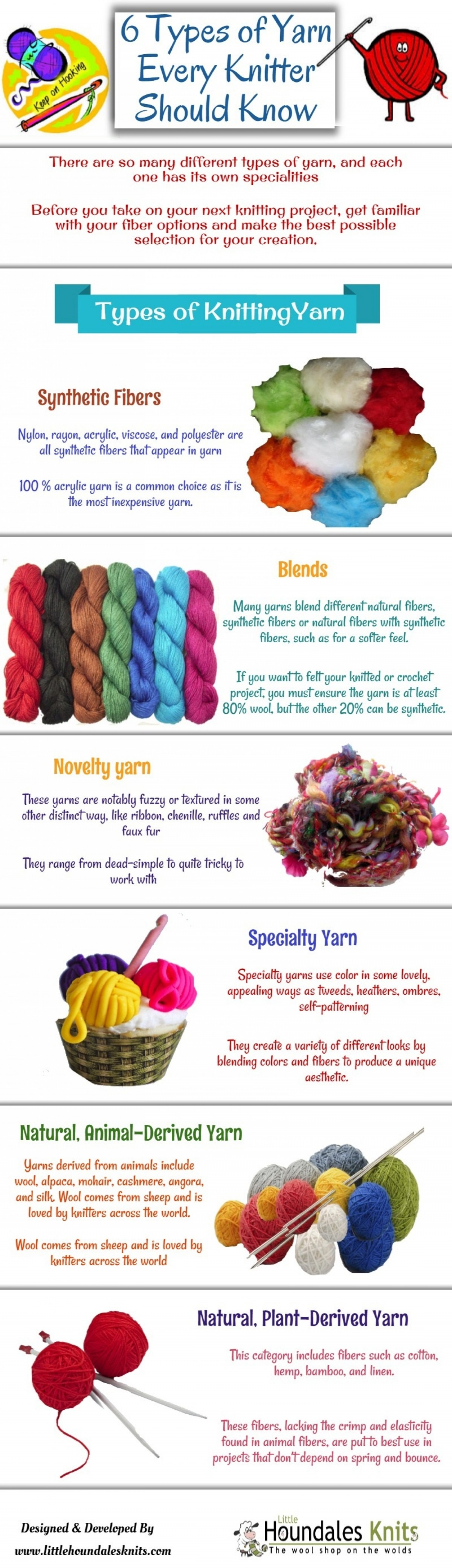 6 Types Of Yarn Every Knitter Should Know