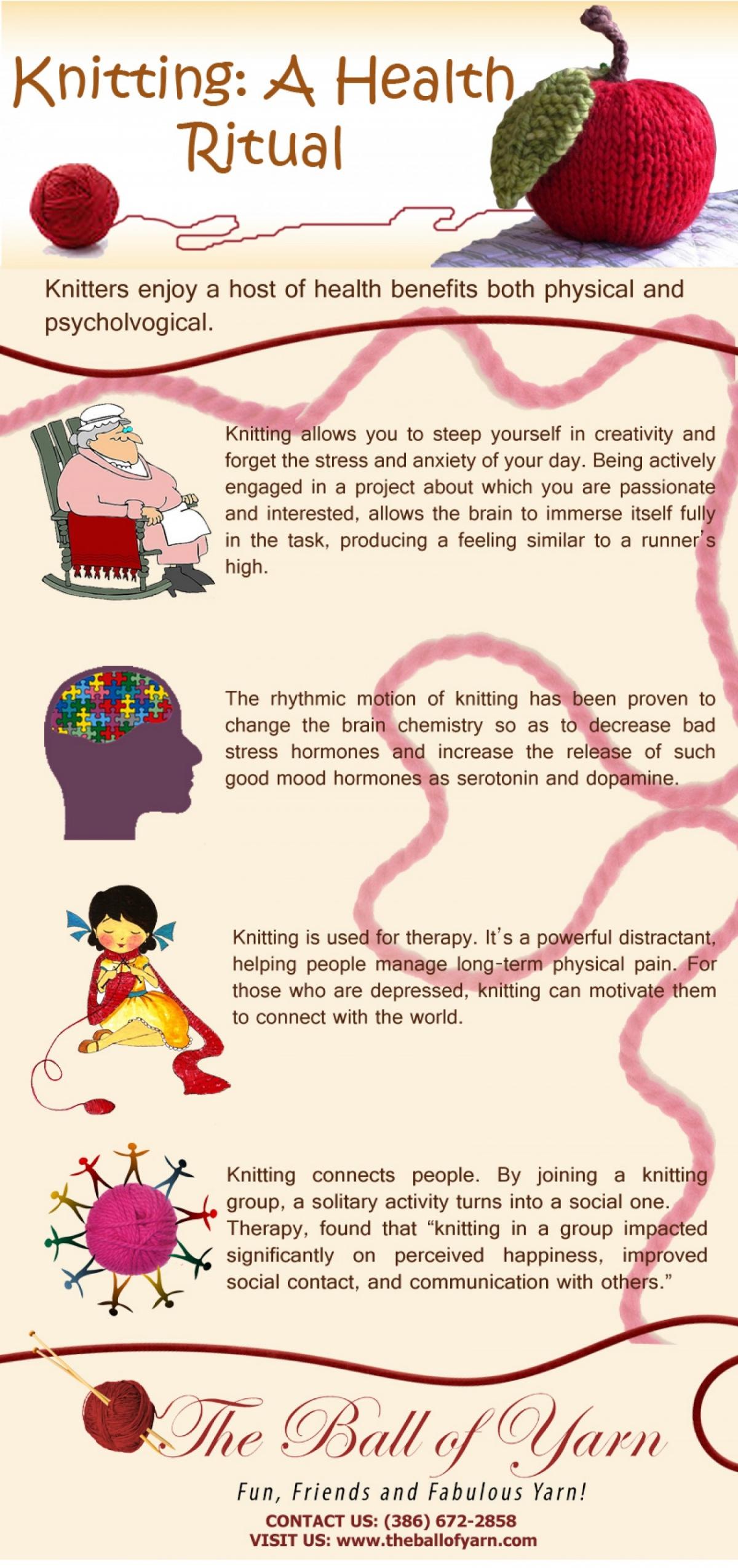 Knitting A Health Ritual