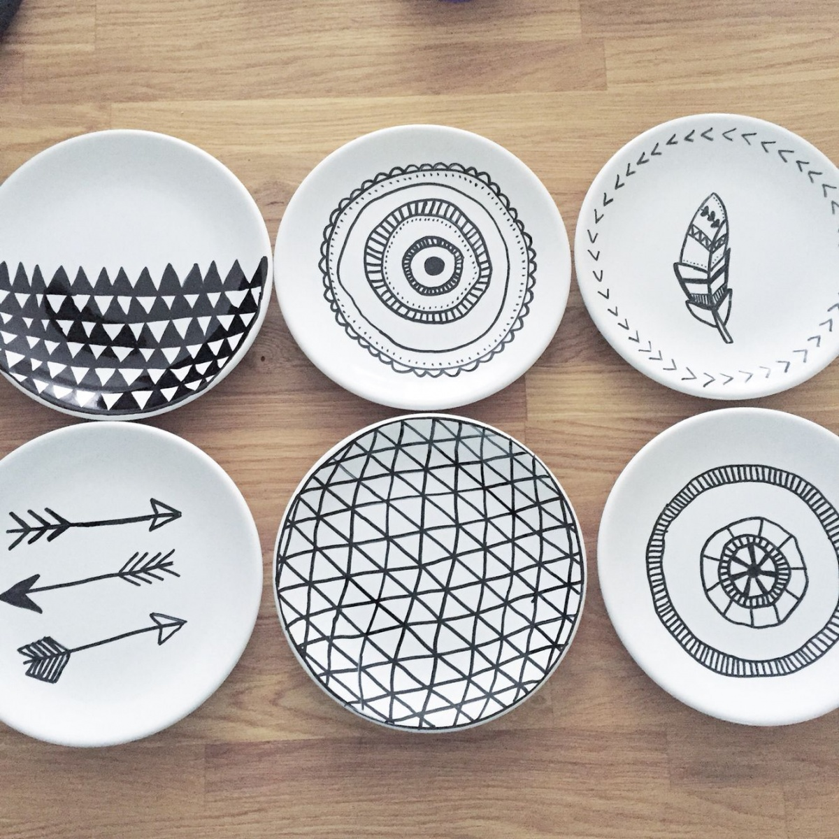 The doodle plate