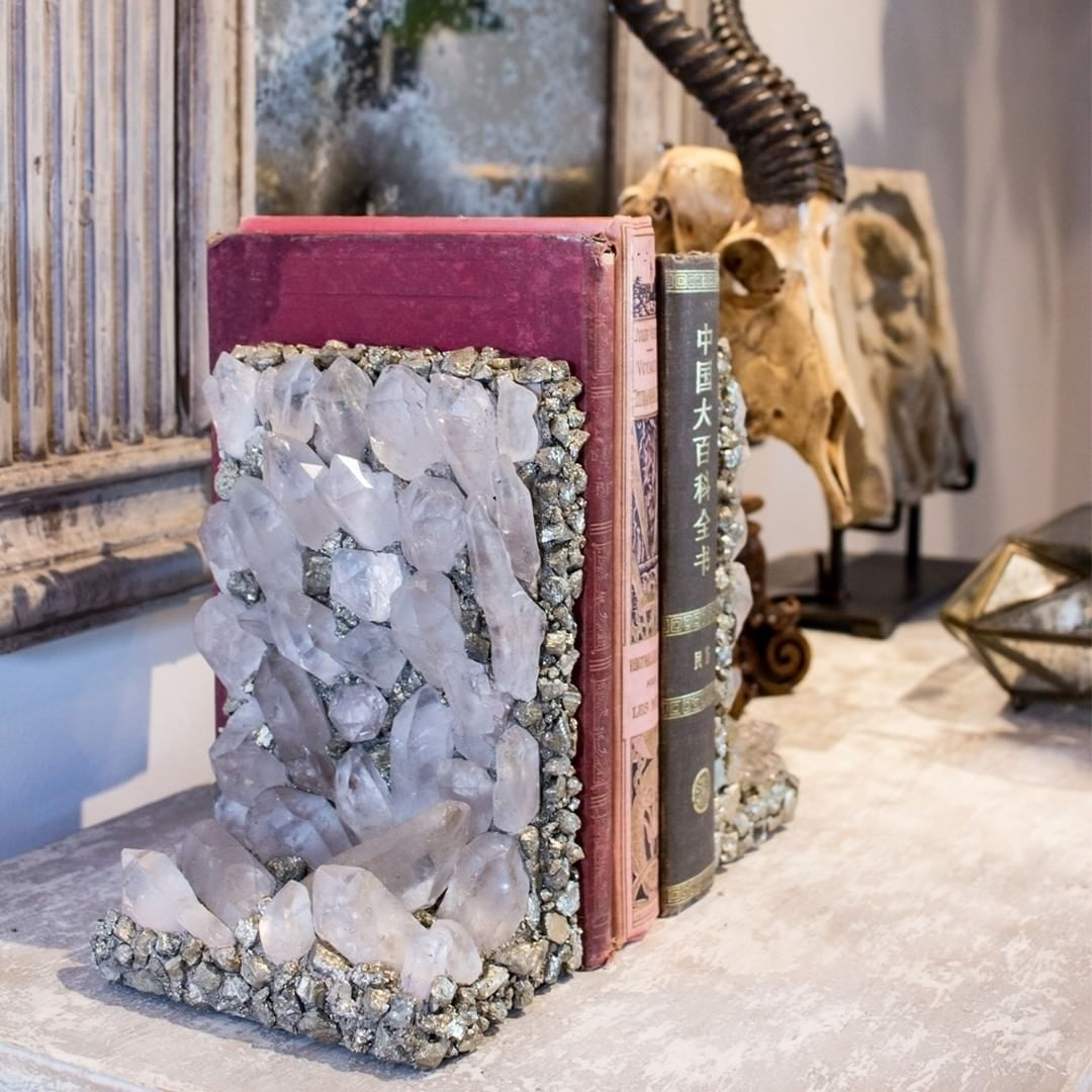 The pyrite bookend