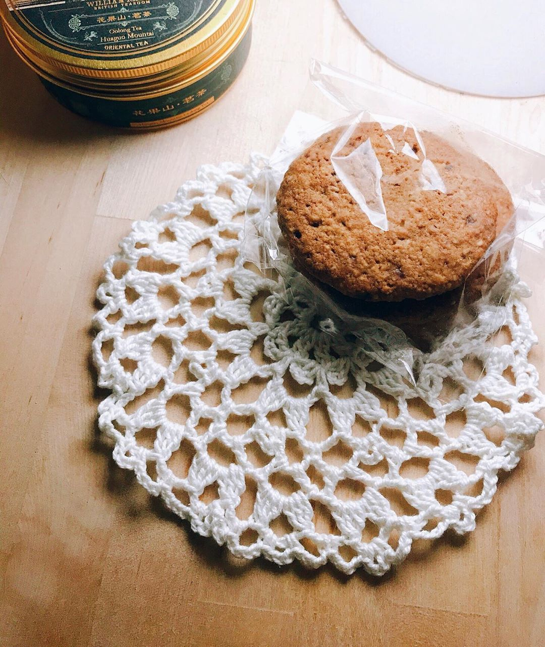 Lacy coasters